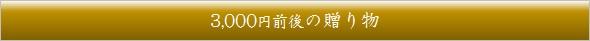 ギフト3000円バー